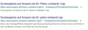 Pietro Lombardi Cap Suchanfrage
