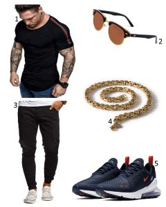 Outfit mit Air Max 270