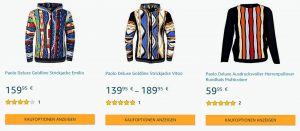 Paolo Deluxe Amazon