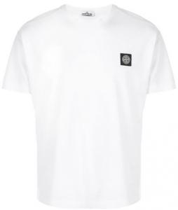 Kianush T-Shirt weiß Stone Island