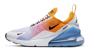 Nike Air Max 270 orange weiß Maestro Hayatim