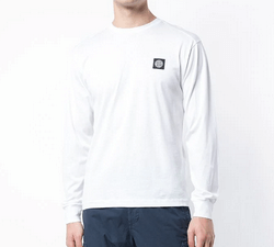 PA Sports Stone Island Long Sleeve Weiß