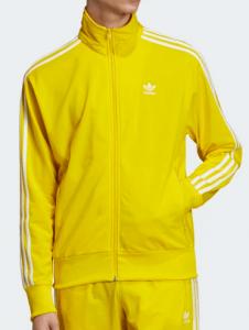 SSIO gelber adidas Trainingsanzug