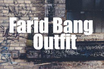Farid Bang Outfit