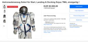 Fliegen zum Mond Outfit