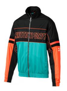 LUXTG Woven Men's Track Jacket von Puma orange blau