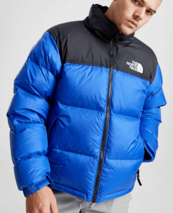 Ramo blau schwarze the north face jacke