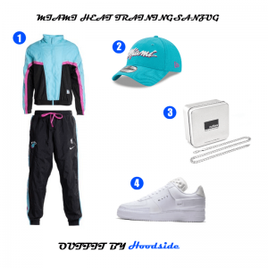 Miami Heat Trainingsanzug Outfit