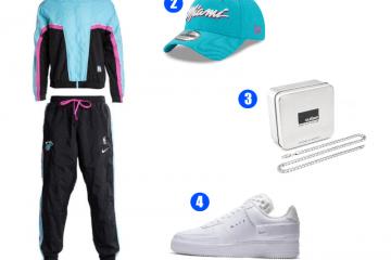 Miami Heat Trainingsanzug Outfit