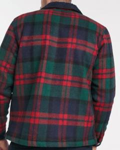 Pull&Bear Marineblau Flanellhemd