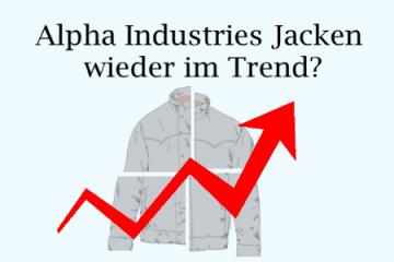 Alpha Jacke wieder im Trend
