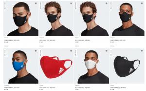 adidas Corona Stoff Masken