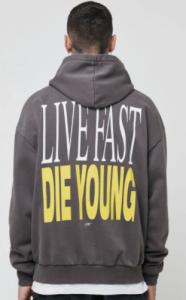 LFDY Die Young Hooded Hoodie
